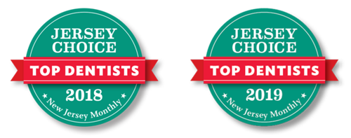 Jersey Choice Top Dentists of 2018 and 2019
